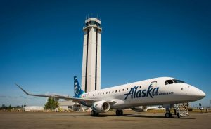 Alaska Airlines at Paine Field